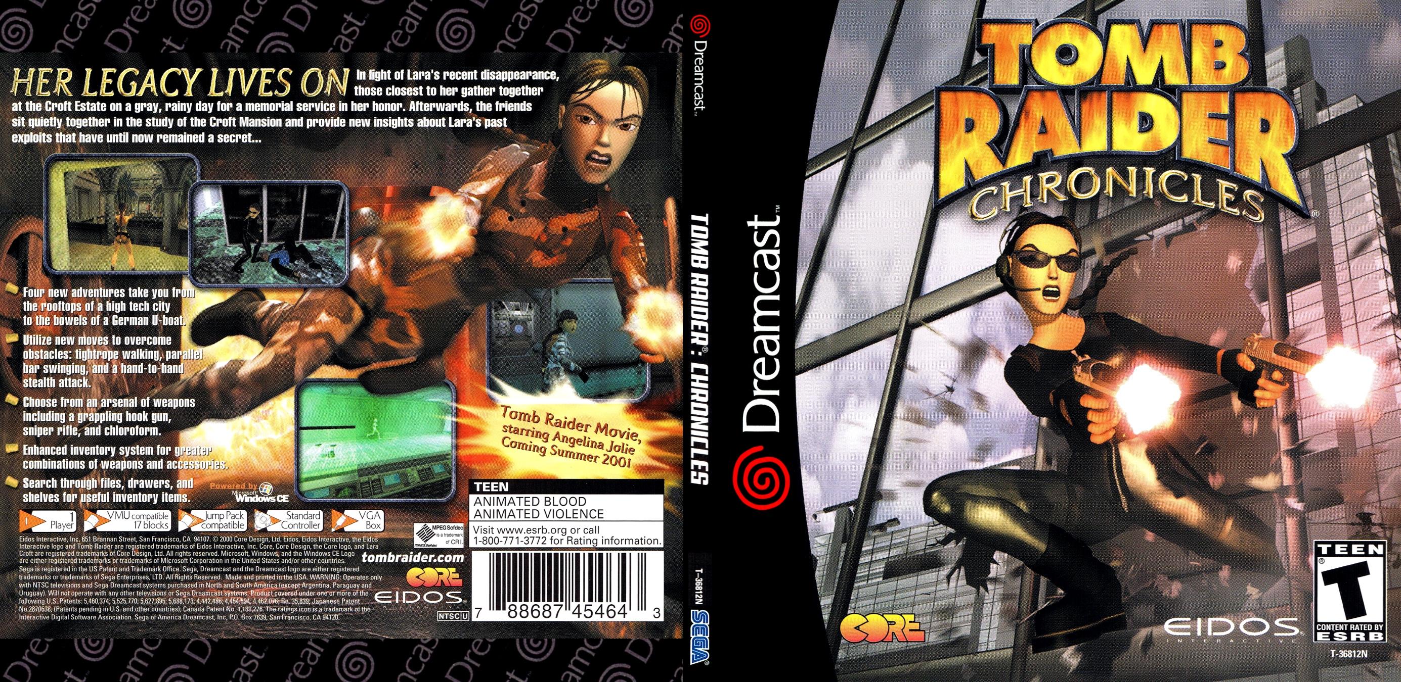 Tomb Raider Chronicles Usa Iso Dc Isos Emuparadise